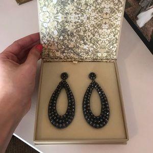 Jewelry - Deepa Gurnani: Eliza beaded drop earrings